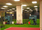 current facility Iron Mike commercial pitching machines - 2 machines with various speeds. Great for catchers too!